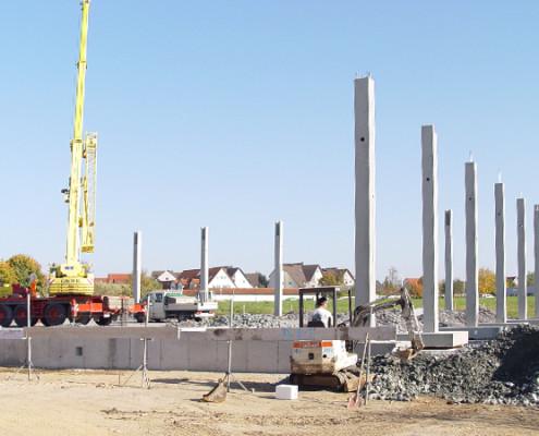 Gewerbebau, Herrmann Bau, Industriestraße 17, Mainleus bei Kulmbach, Nähe Bayreuth