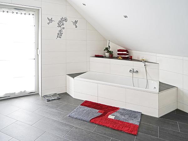 Gestaltung und Ausbau des Badezimmers