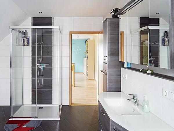 Ausbau des Badezimmers