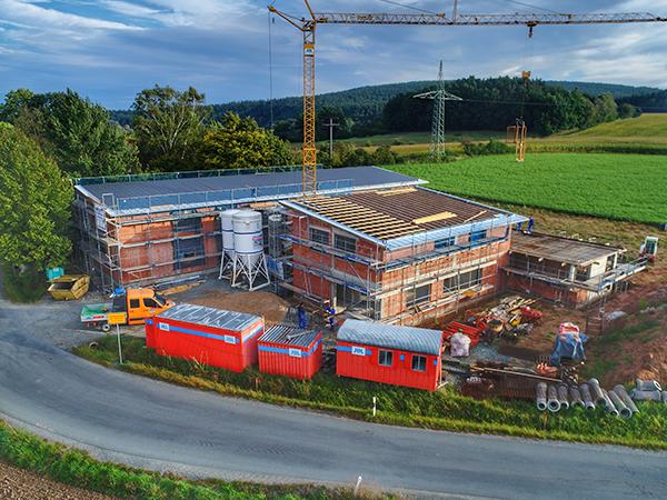 Gewerbebau, Herrmann Bau, Industriestraße 17, Mainleus bei Kulmbach