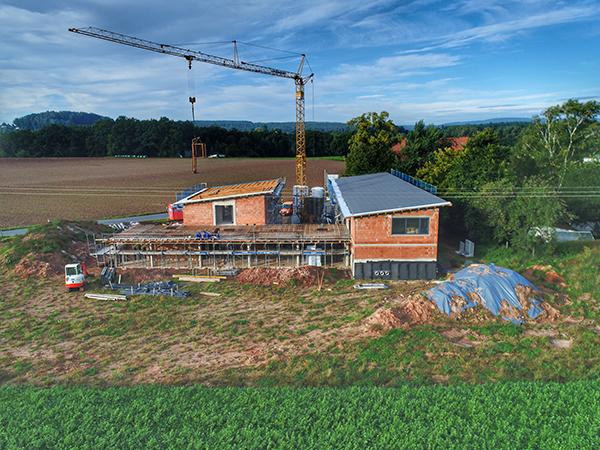 Gewerbebau, Herrmann Bau Industriestraße 17, Mainleus bei Kulmbach