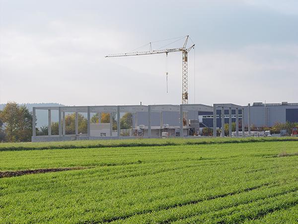 Gewerbebau, Herrmann Bau in Mainleus bei Kulmbach