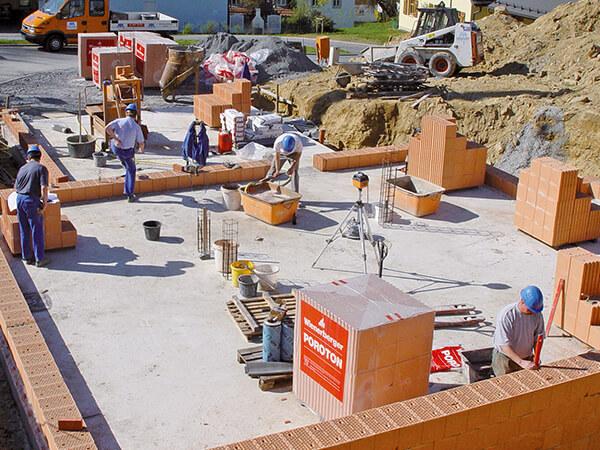 Hochbau, Herrmann Bau in Mainleus bei Kulmbach, Oberfranken