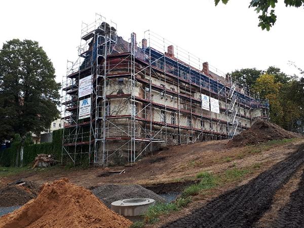 Gebäudesanierung, Herrmann Bau, Mainleus bei Kulmbach, Nähe Bayreuth