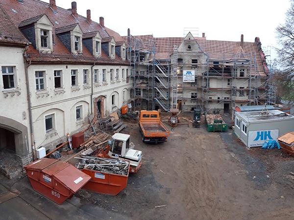 Gebäudesanierung, Herrmann Bau in Mainleus, Kulmbach, Oberfranken