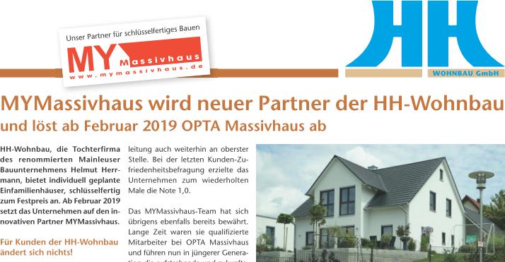 Schlüsselfertiges Bauen  mit der HH-Wohnbau GmbH