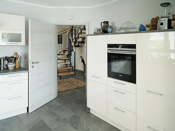 Schlüsselfertig Bauen, Küche, HH-Wohnbau GmbH, Mainleus bei Kulmbach, Nähe Bayreuth