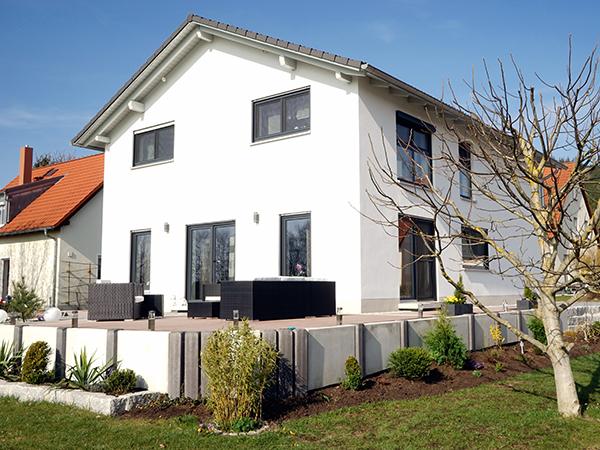 Schlüsselfertig Bauen, Herrmann Bau, Industriestraße 17 in Mainleus bei Kulmbach, Nähe Bayreuth
